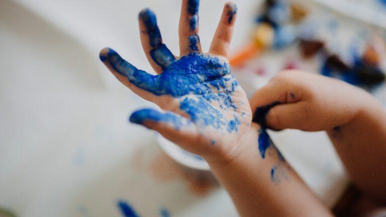Cifrele si pictatul cu degetele