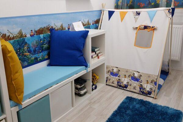 Cum am amenajat camera de joaca a copilului + idei si recomandari