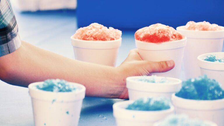 Experiment pentru copii cu gheață