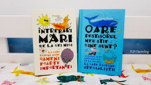 """""""Întrebări mari de la cei mici … """" Cărți pentru copii"""