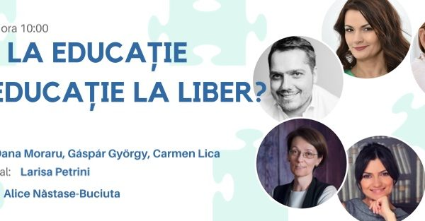 Educatia si linia fina dintre libertate si sustinere (interviu cu Oana Moraru)
