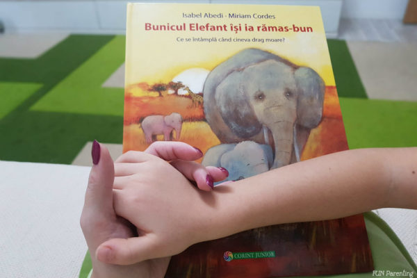"""""""Bunicul Elefant își ia rămas bun""""– Cărți pentru copii"""