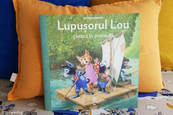 """""""Lupușorul Lou pleacă în aventură"""" – Cărți pentru copii"""
