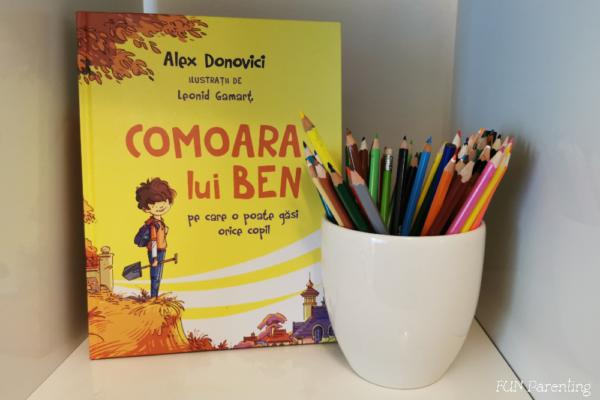 """""""Comoara lui Ben – pe care o poate găsi orice copil"""" – Cărți pentru copii"""