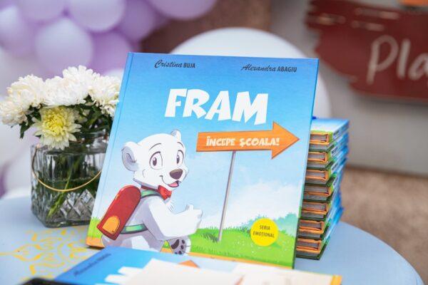 Fram începe școala! – Prima mea carte pentru copii